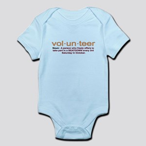Volunteer definition Infant Bodysuit