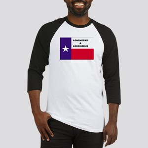 Texas Longnecks & Longhorns Baseball Jersey