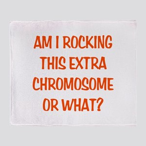 Extra Chromosome Throw Blanket