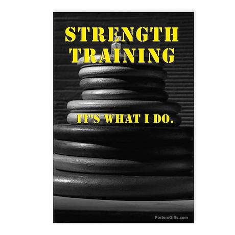Strength Training Postcards (8)