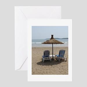Moroccan Beach Greeting Card