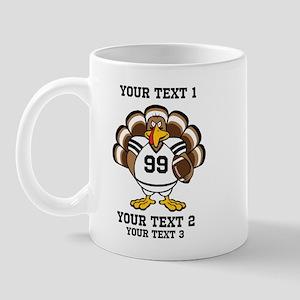 Custom Turkey Bowl Mug