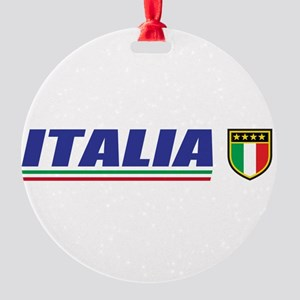 Ialia Round Ornament