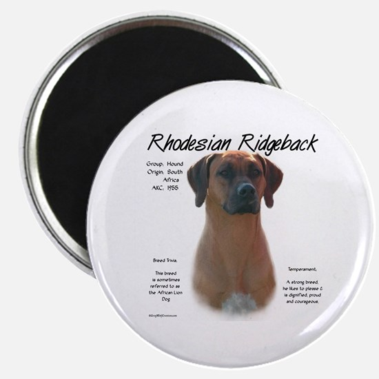 Rhodesian Ridgeback Magnet