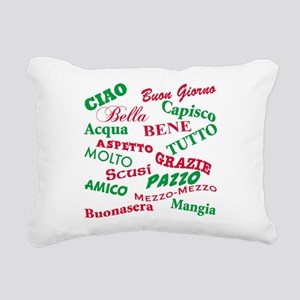 Italian sayings T-Shirt Rectangular Canvas Pil