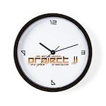 pJJ Wall Clock