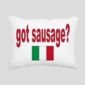 itt aint sauce(blk) Rectangular Canvas Pillow