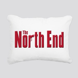 The north End Rectangular Canvas Pillow