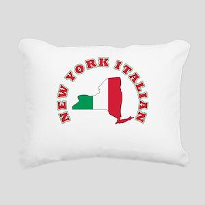 3-new york italian Rectangular Canvas Pillow
