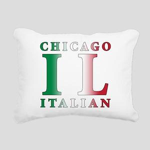 chicago Italian Rectangular Canvas Pillow