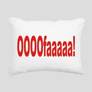 OOOOOfaaaaa Rectangular Canvas Pillow
