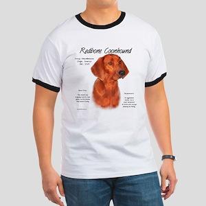 Redbone Coonhound Ringer T