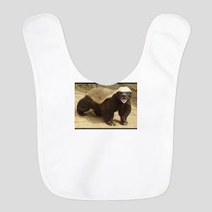 Honey Badger Polyester Baby Bib