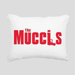 2-mucci(blk) Rectangular Canvas Pillow