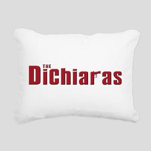 dichiara.white Rectangular Canvas Pillow