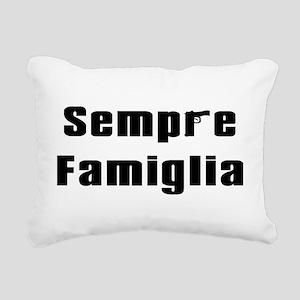 Sempre famiglia Rectangular Canvas Pillow