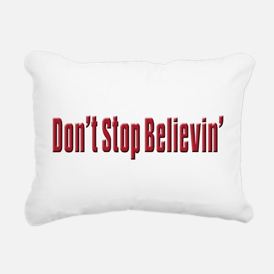 Dont stop believen(blk)T-Shirt.png Rectangular Can