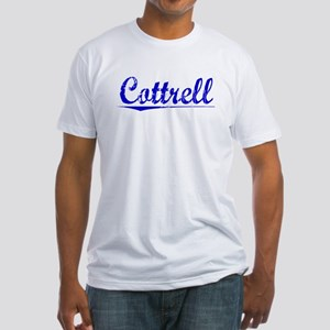 Cottrell, Blue, Aged Fitted T-Shirt