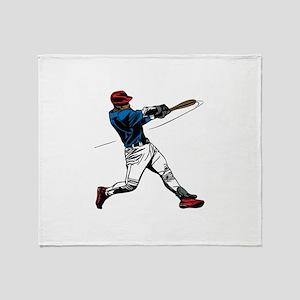 Baseball design Throw Blanket
