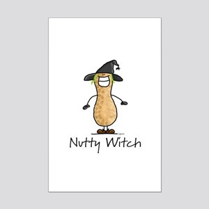 Nutty Witch Mini Poster Print