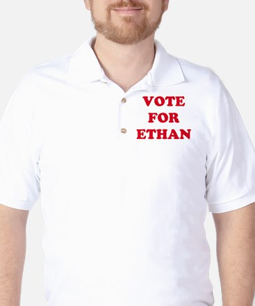 VOTE FOR ETHAN  Golf Shirt