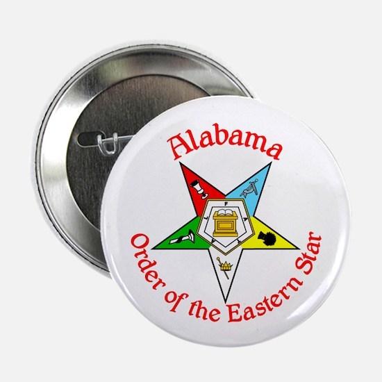 """Alabama Eastern Star 2.25"""" Button"""