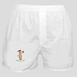 Holiday Nut Boxer Shorts