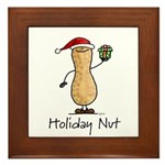Holiday Nut Framed Tile