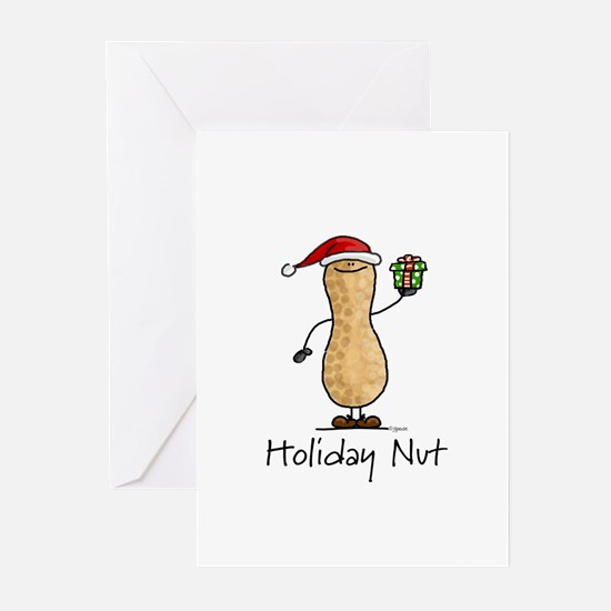 Holiday Nut Greeting Cards (Pk of 10)