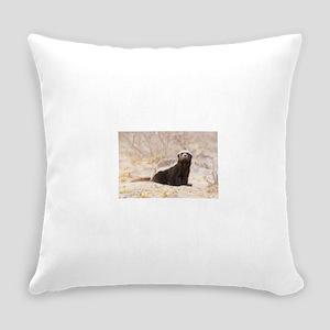 Honey Badger Everyday Pillow
