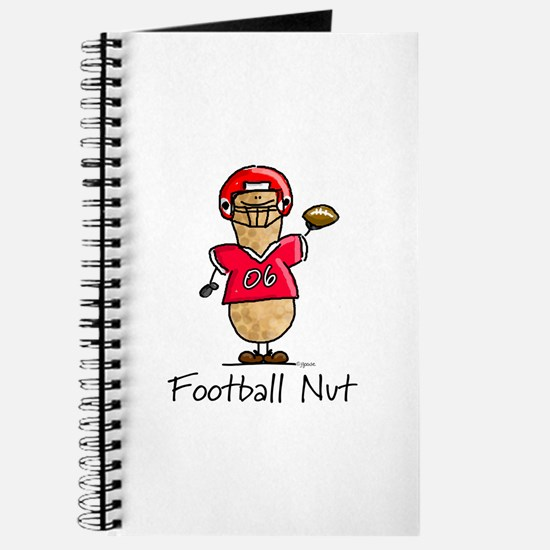 Football Nut (red) Journal