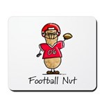Football Nut (red) Mousepad