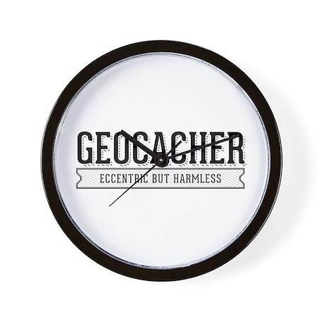 Geocacher - Eccentric but Harmless Wall Clock