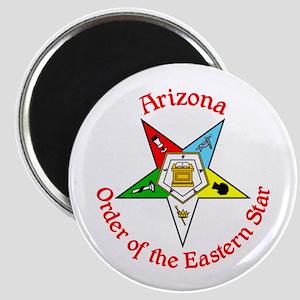 Arizona Eastern Star OES Magnet
