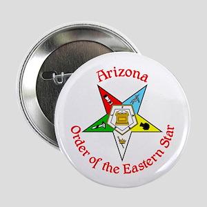 "Arizona Eastern Star OES 2.25"" Button"