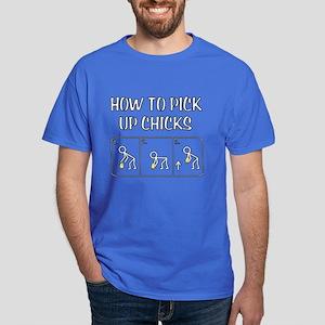 Pick Up Chicks Dark T-Shirt
