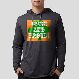Irish And Proud Mens Hooded Shirt