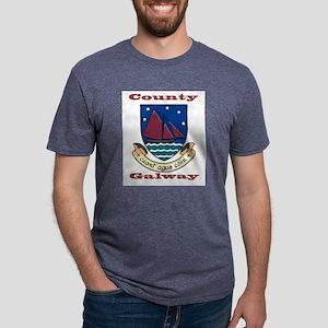 County Galway COA Mens Tri-blend T-Shirt