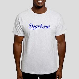 Dearborn, Blue, Aged Light T-Shirt