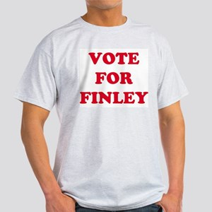 VOTE FOR FINLEY  Ash Grey T-Shirt
