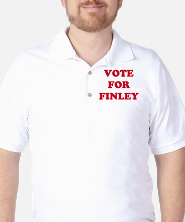 VOTE FOR FINLEY  Golf Shirt