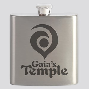 GT BIG LOGO Flask