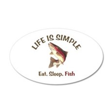 Life is Simple Wall Decal