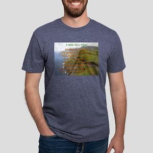 Wish For A Friend Mens Tri-blend T-Shirt