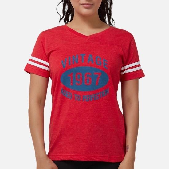 1967 Vintage Birthday Womens Football Shirt