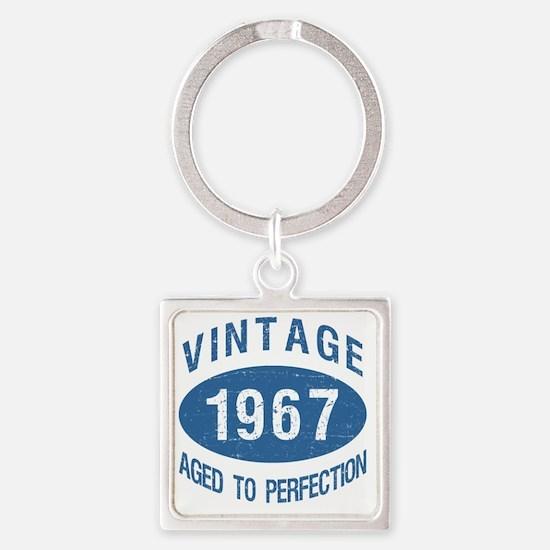 1967 Square Keychain