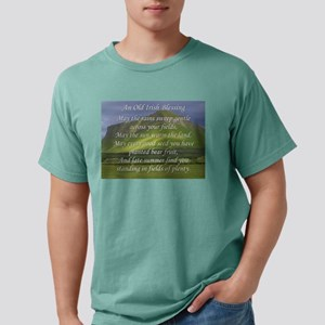 Old Irish Blessing #5 Mens Comfort Colors Shirt