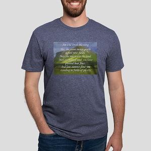 Old Irish Blessing #5 Mens Tri-blend T-Shirt