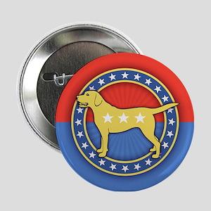 "Yellow Dog 2.25"" Button"