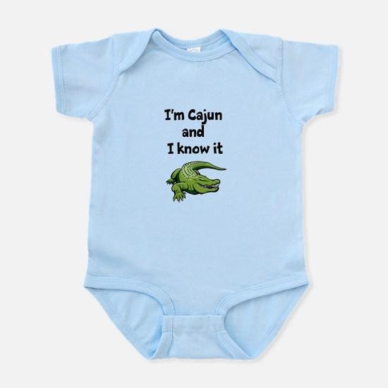 Im Cajun and I know it Infant Bodysuit